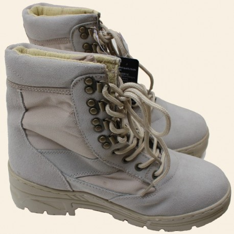 Chaussures Sniper Montantes Fostex Tan