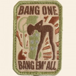 Patch Mil-Spec Monkey Bang Em' All Patch - Small Multicam