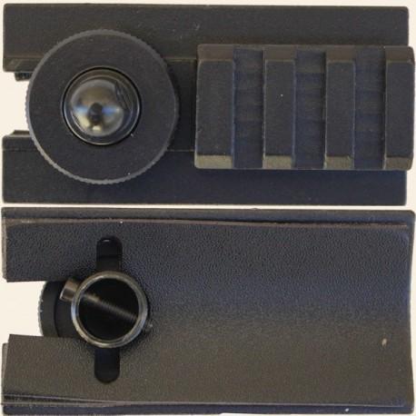 Montage Rail FN SPR Swiss Arms sur Attache Sangle