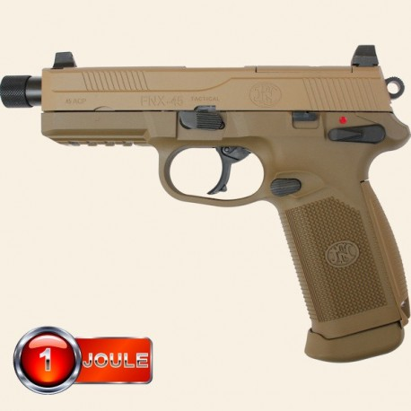 FN FNX-45 Tactical Dark Earth BlowBack