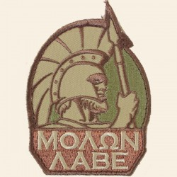 Patch Mil-Spec Monkey Molon Labe Multicam
