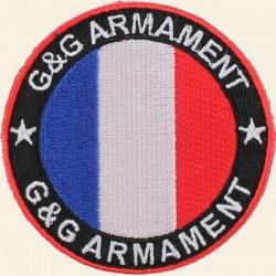 Patches G&G Armament Bleu Blanc Rouge