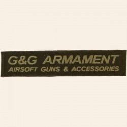Patch G&G Armament Airsoft Guns Accessories