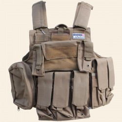 Veste Tactical Ciras Swiss Arms 8 Poches Tan