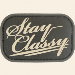 Patch Mil-Spec Monkey Stay Classy PVC Swat