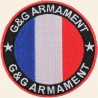 Patches G&G Armament Bleu Blanc Rouge