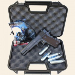 Pack Complet Colt 1911 A1 Blowback, Full Métal