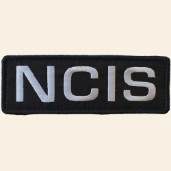 Patch NCIS Noir Brodé