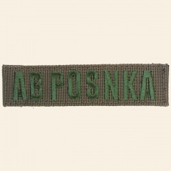 Patch Groupe Sanguin AB POS NKA Green