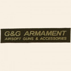 Patch G&G Armament Airsoft Guns Accessories
