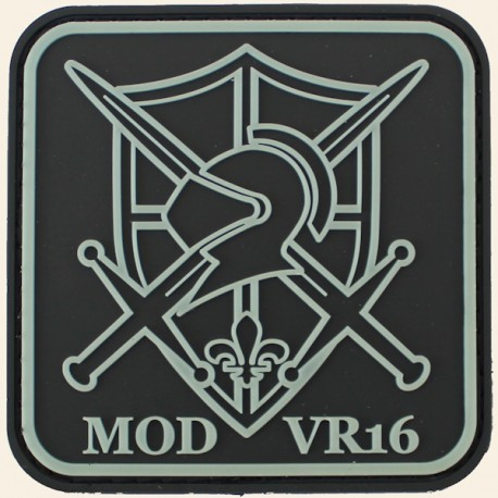 Patch Chevalier PVC MOD VR16 Airsoft