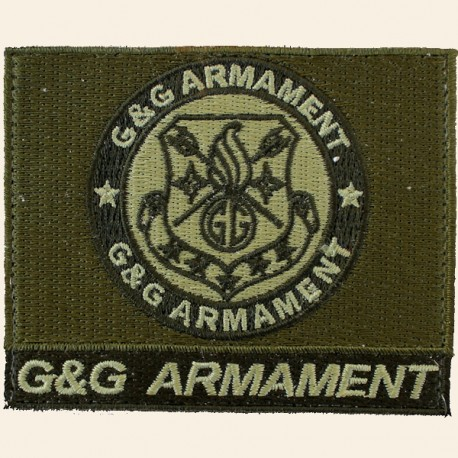 Patch Logo G&G Armament Green