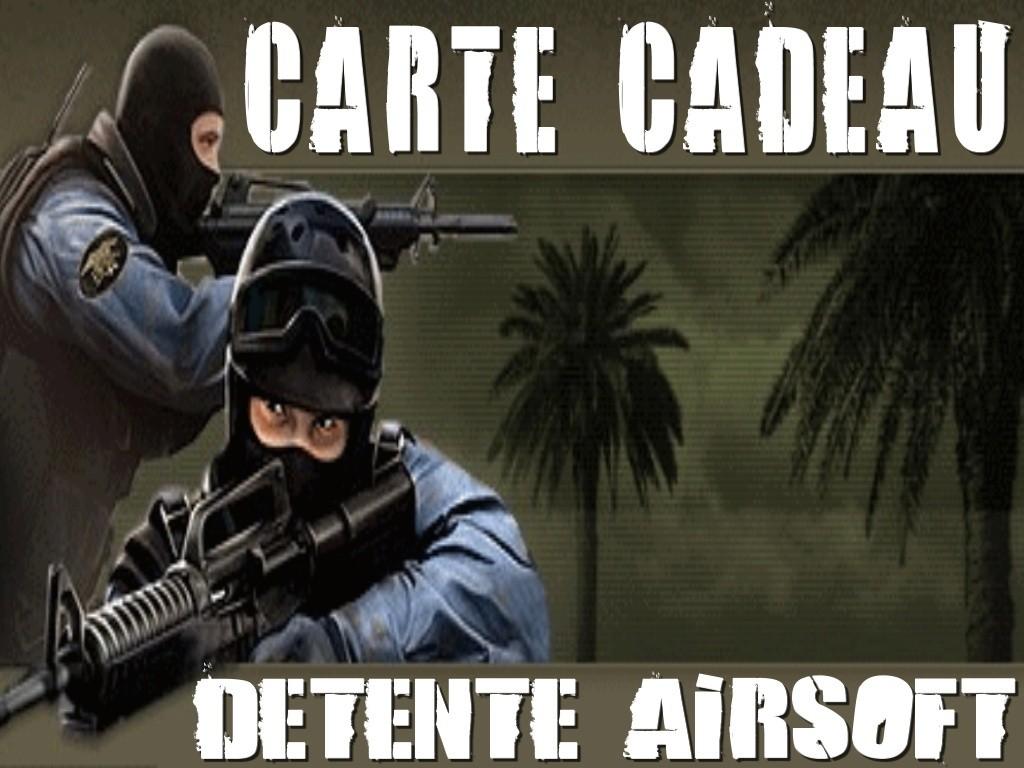 Carte Cadeau Détente Airsoft
