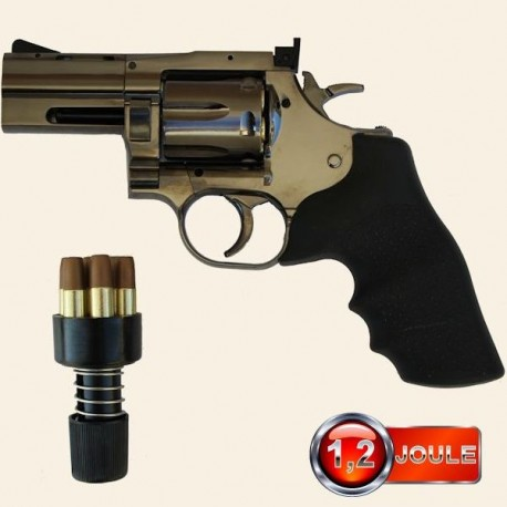 Revolver Dan Wesson Steel Grey 2,5 Pouces