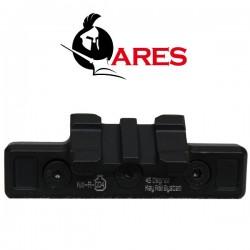Rail Keymod Ares 45 Degrés pour Systèmes Keymod