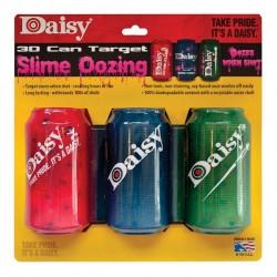 Cible Daisy 3 Canettes 3D Effet Sanglant