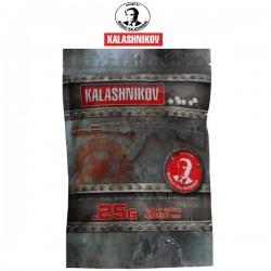 Sachet de 4000 Billes Kalashnikov 0,25grs Blanches