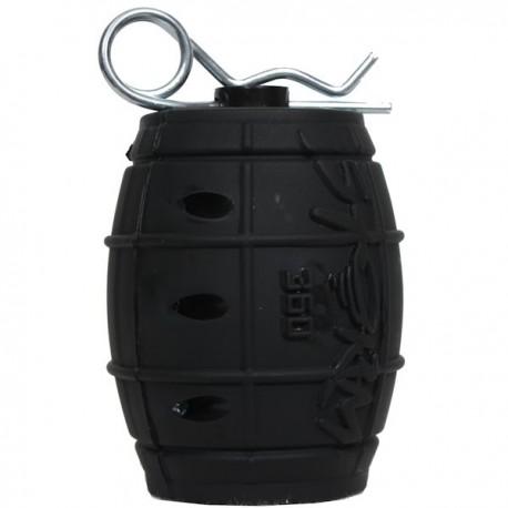 Grenade Storm 360° Noire à Gaz ASG 165 Billes