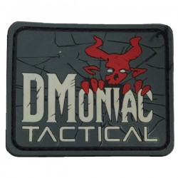 Patch PVC DMoniac Tactical