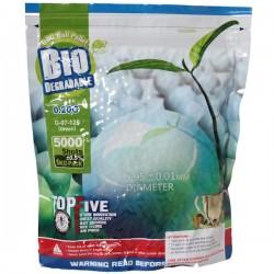 Sachet de 5000 Billes 0,20grs Vertes Biodégradables G&G