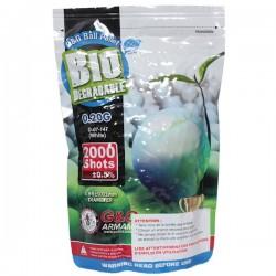 Sachet de 2000 Billes 0,20grs Blanches Biodégradables G&G