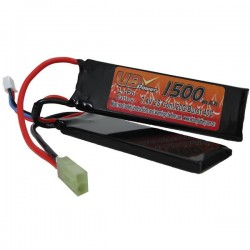Batterie LiPo VBPower 2 Sticks 7,4v, 20C 1500maH