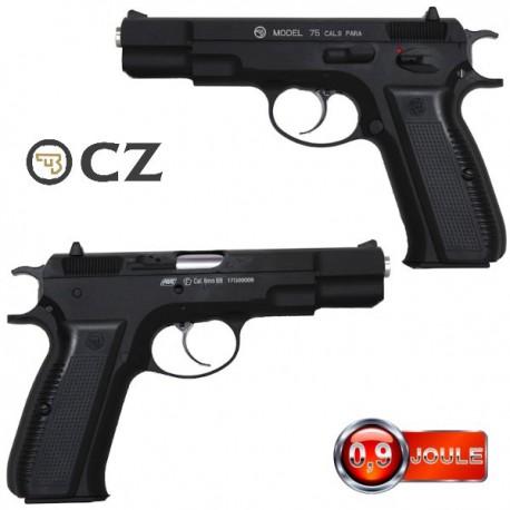 Pistolet CZ-75 Blowback Full Métal