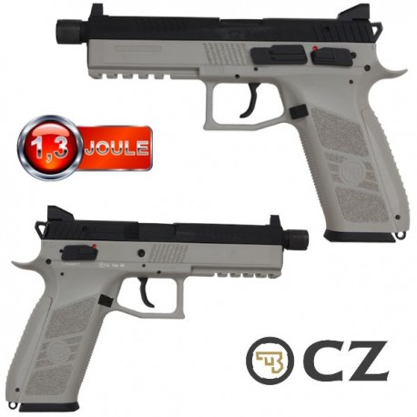Pistolet CZ-P09 Urban Grey Blowback Full Métal