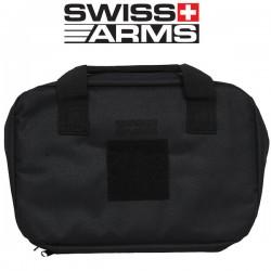 Housse Noire Swiss Arms pour 2 Pistolets