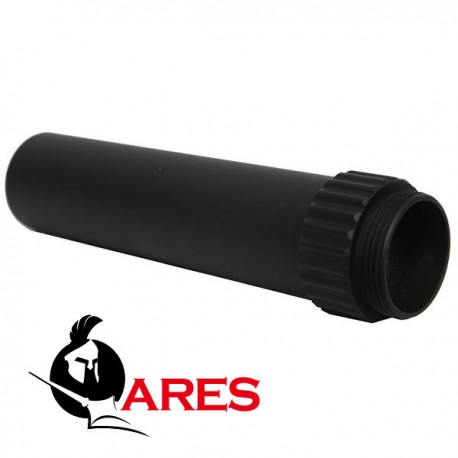 Extension Tube de Crosse Long Métal Ares pour M4 Assault Amoeba 016 Ares
