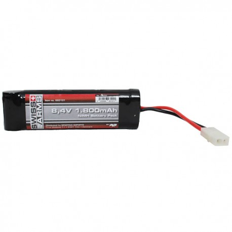 Batterie NiMh 8,4v 1800 mAh Large Swiss Arms