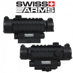 Point Rouge Multi-Rails Swiss Arms 7 Niveaux de Luminosité