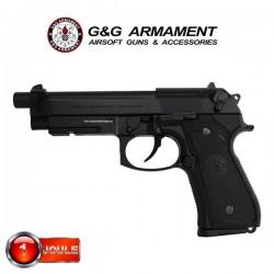 Pistolet GPM92 Noir G&G Blowback Full Métal Livré en Mallette