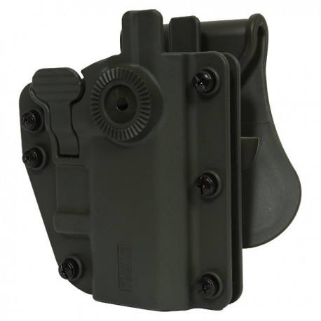 Holster Rigide OD Green Multi Angles Universel Ambidextre Swiss Arms Adapt-X