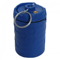 Grenade Rotative à Dispersion 360° E-RAZ 100 Billes Bleue