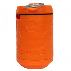 Grenade Rotative à Dispersion 360° E-RAZ 100 Billes Orange