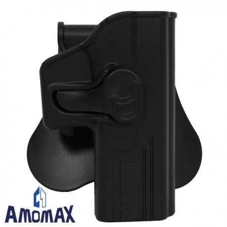 Holster de Ceinture Rotatif 360° Amomax pour Glock 19/23/32