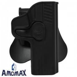 Holster de Ceinture Rotatif 360° Amomax pour M&P9