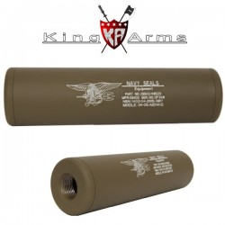 Extension de canon Externe Universel Navy Seals King Arms Tan