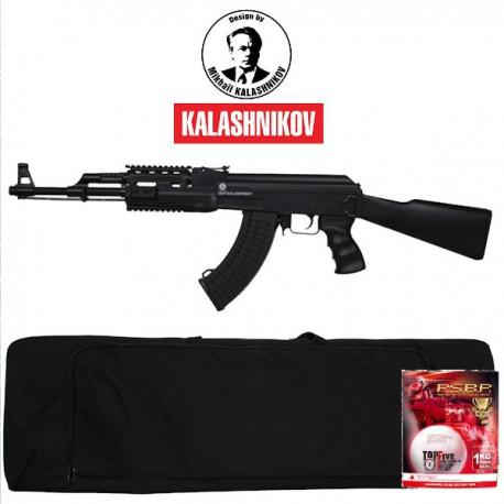 Pack Complet Kalashnikov AK47 Tactical Noire