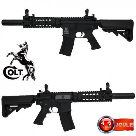 Colt M4 Silent Ops Noir Full Métal
