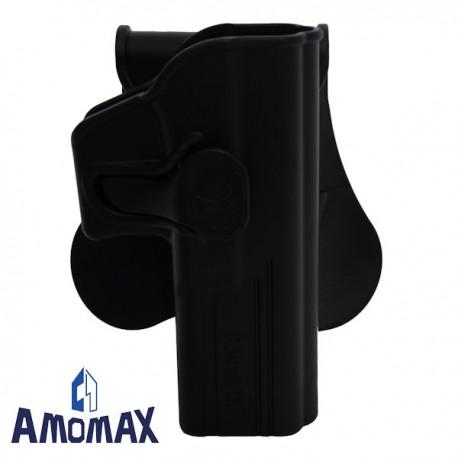 Holster de Ceinture Rotatif 360° Amomax pour Glock 17/22/31