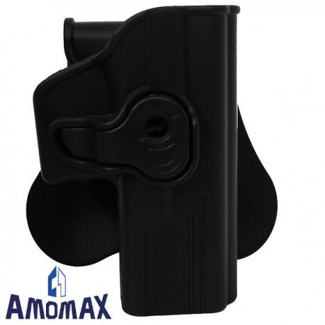 Holster de Ceinture Rotatif 360° Amomax pour Glock