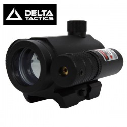 Mini Point Rouge/Vert Equipé Laser Rouge Delta Tactics