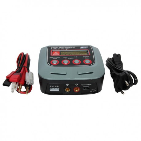 Chargeur de Batteries Auto Stop Digital Multifonctional pour Batteries LiHV, LiPo, LiFe, LiIo, NiMh, NiCd, Pb
