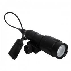 Lampe Tactique 280-320 Lumens Noire Métal ASG