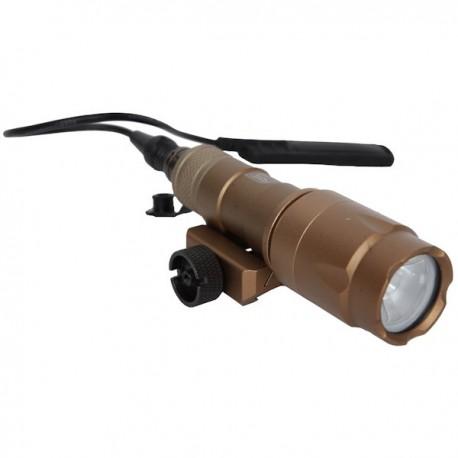 Lampe Tactique 280-320 Lumens Tan Métal ASG