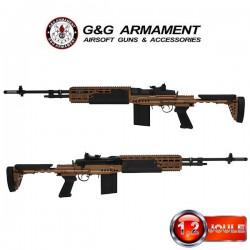 M14 EBR HBA Bronze G&G Modèle Long