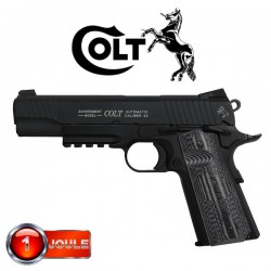 Colt Combat Unit 1911, Blowback (Culasse Mobile), Full Métal