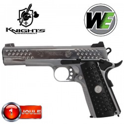 Kac Nighthawk 1911 Chromé WE Full Métal Blowback